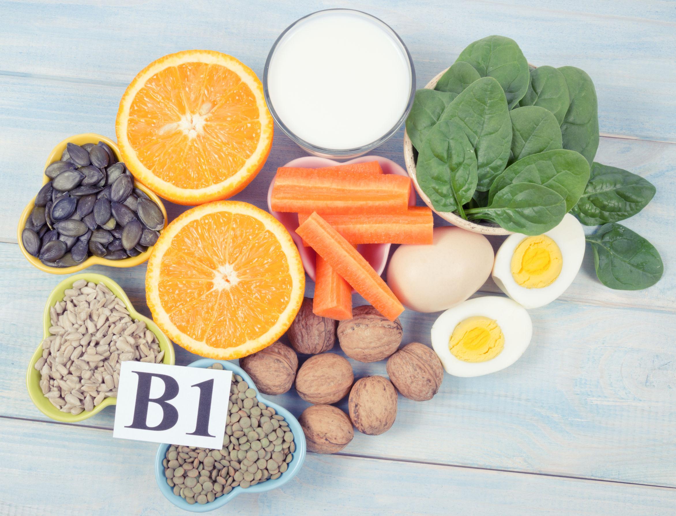 Vitamine B1: Wat zijn de beste producten van (09/21)?