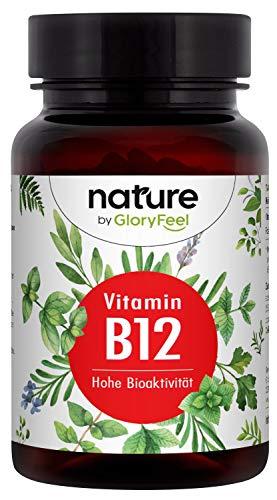 Vitamine B12 VERGELIJKING WINNAR 2020* - 200 tabletten (13 maanden) - Veganistische Bioactieve B12 vormen + Depot vorm Hydroxocobalamine + Foliumzuur 5-MTHF - Laboratorium getest in Duitsland.