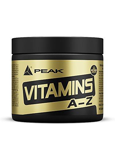Peak Performance Vitamins A-Z, 180 Tabletten