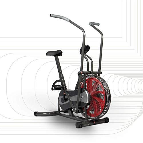 SportPlus hometrainer & crosstrainer in één apparaat, traploos instelbare weerstand, grote windwiel, ideale full-body training, trainingscomputer, gebruikersgewicht tot 100 kg, getest op veiligheid