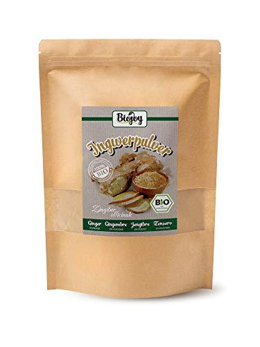 Biojoy BIO-Gemberpoeder - gemberwortels gemalen (Zingiber officinale) (1 kg)