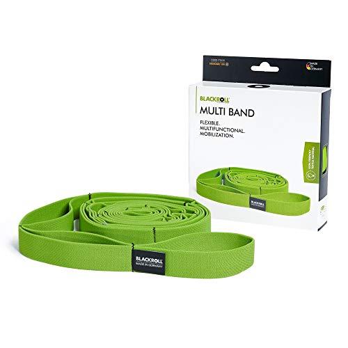 BLACKROLL® MULTI BAND, lange weerstandsband voor meer flexibiliteit en training van de spieren, elastische band voor sport en fitness, 270 cm, groen