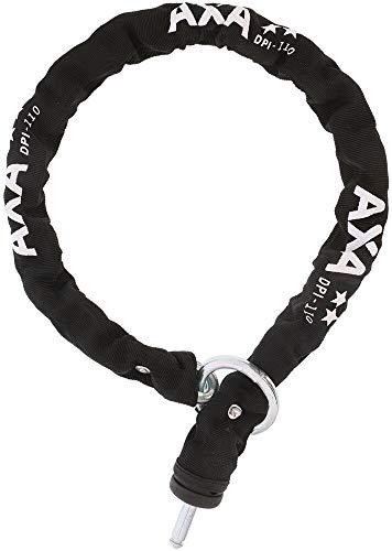 AXA Universal DPI 110/9 kettingslot, zwart