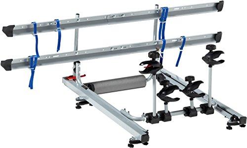 FISCHER 18092 Daklift fietsendrager voor 2 fietsen, dakfietsendrager voor autodak, TÜV/GS-getest, tot 30 kg belastbaar