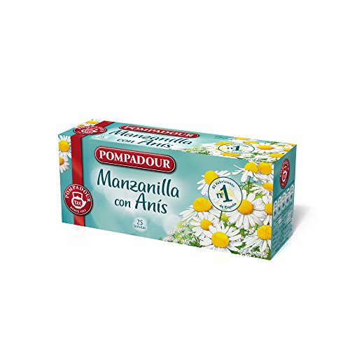 Pompadour, Kamillethee met anijs, 25 zakjes, 33,75 g