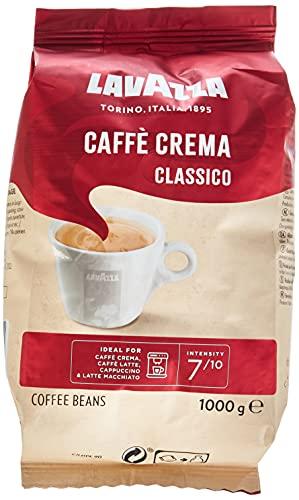 Lavazza koffiebonen Caffè Crema Classico, per stuk verpakt (1 x 1 kg) 1 kg (1er Pack)