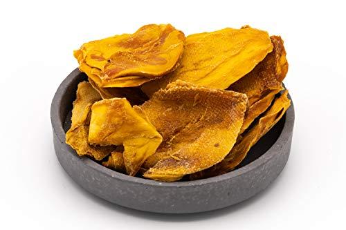 Biologische rauwe mangowangen 1 kg Gedroogde Mexicaanse mango's