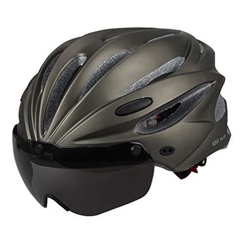 Fietshelm Racefietshelm met afneembare magnetische bril Verstelbare fietshelmen voor dames en heren