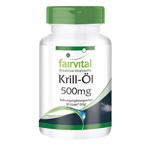 Krill olie capsules 500mg - HOOG GEDOSEERD - 90 LiCaps® - Superba antarctica, rijk aan EPA & DHA - krillolie
