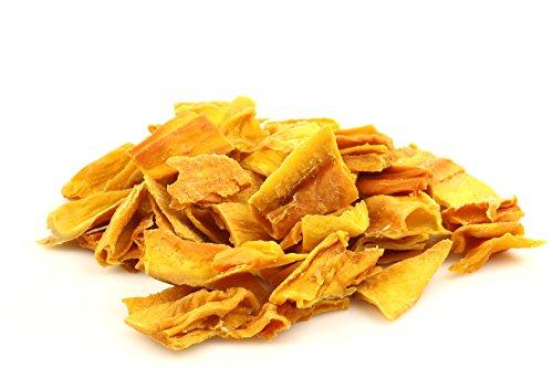 Mango's gedroogd biologisch, natuurlijk, geen toegevoegde suiker, geen GGO, geen conserveringsmiddelen, geen kleurstoffen, 400 g