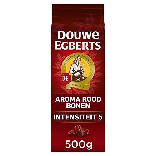 Douwe Egberts Koffiebonen Aroma Rood (3 kg, Intensiteit 05/09, Medium Roast Koffie), 6 x 500 g