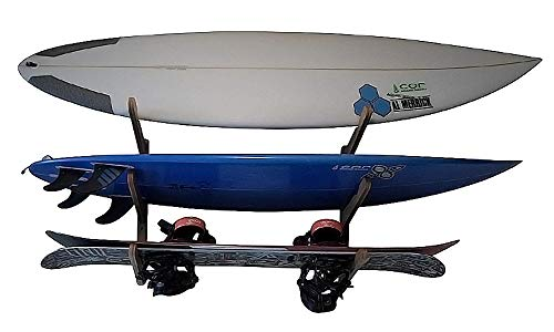 COR Surf Surfboard Rack, Wooden Multi Wall Rack Display, Surfboard Storage, brand started by Surfers