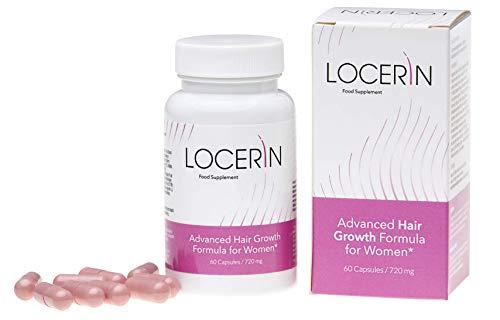 Locerin - Geavanceerde haargroeiformule voor vrouwen, voedingssupplement (60 capsules)