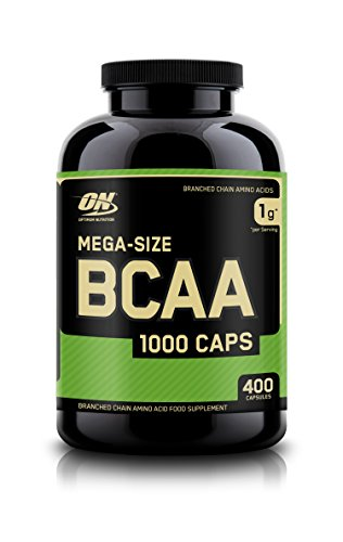 Optimum Nutrition BCAA 1000, Standard, 400 Capsules