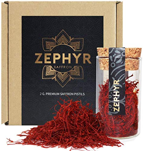 2g premium Saffraan Saffraandraad, in een herbruikbare glazen capsule