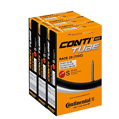 Continental Race 28 fietsbinnenband SV 42 mm, 3-pack