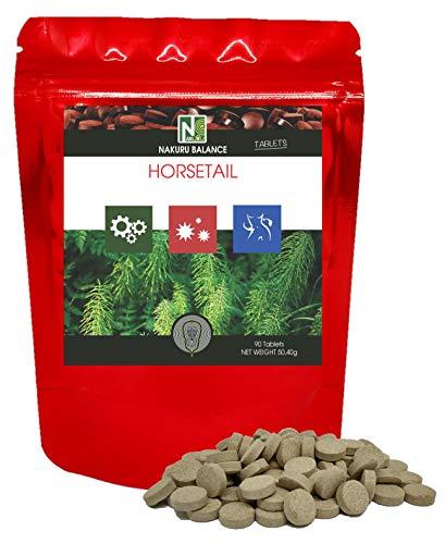 Heermoes / 90 Tabletten van 560mg / NAKURU Equilibre/Droog en koud gecomprimeerd poeder/Analyseren en verpakken in Frankrijk/De Remineraliserende Plant!