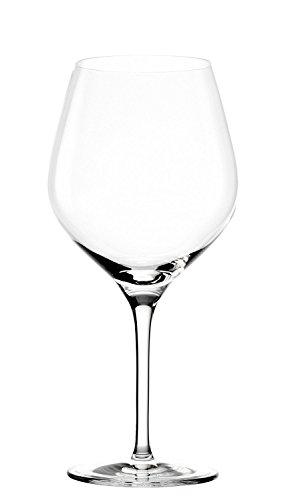 Stölzle Lausitz Burgunderglazen Exquisit 650 ml I rode wijnglazen set van 6 I wijnglazen vaatwasmachinebestendig I rode wijnglazen set onbreekbaar I hoogwaardig kristalglas I hoogste kwaliteit