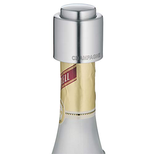 WMF Champagne Fles Seal, Roestvrij Staal, Zilver