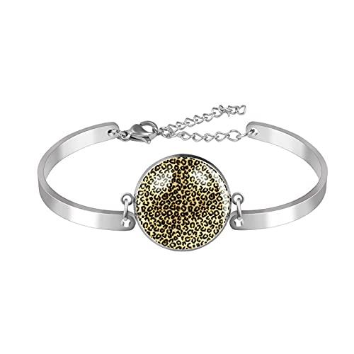 Lemon Naadloze Armband Verstelbaar Verjaardag Sieraden Cadeau voor Vrouwen, The diameter of the circular area is 20mm,