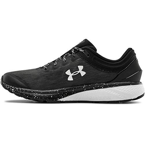Under Armour Men's Charged Escape 3 Evo Running Shoe, Black White White 001, 8 UK