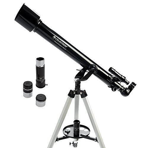 Celestron PowerSeeker 60AZ lichtbreker 175x zwart - telescoop (71,1 cm, 3,18 kg, aluminium, aluminium)