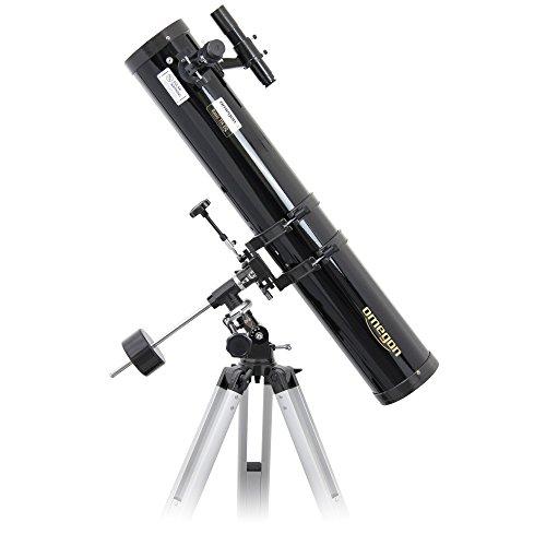 Omegon telescoop N 114/900 EQ-1, spiegeltelescoop met 114mm opening en 900mm brandpuntsafstand