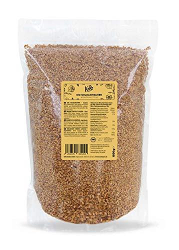 KoRo - Bio lijnzaad 1,5 kg - Lijnzaad - Natuurlijk en puur plantaardig - Uitstekend in muesli of brood