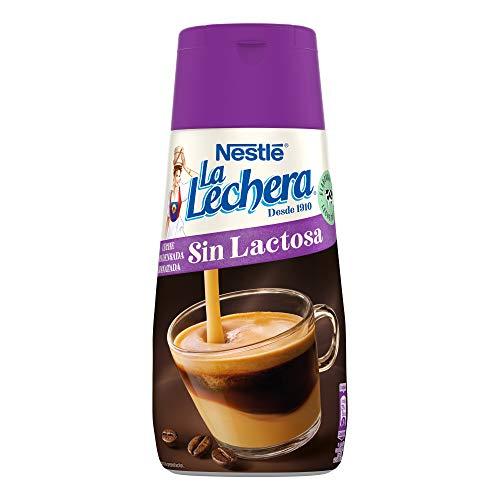 Nestlé, La Lechera, Magere gecondenseerde melk, Lactosevrij, Antidrup fles, 450 g