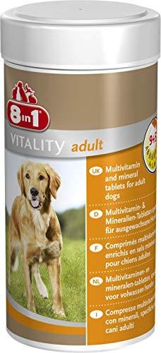 8in1 Multi vitamine tabletten voor volwassenen, voor voedingssupplement bij volwassen honden, 1 blik (1 x 70 tabletten)