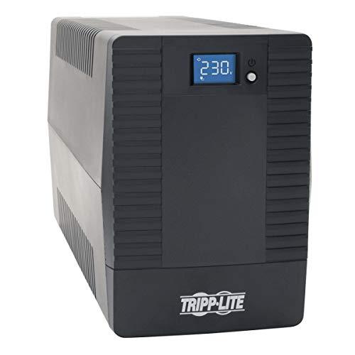 Tripp Lite OMNIVSX850 Contactloze stroomvoorziening 850 VA 480 W Line-Interactive-USV met zes stopcontacten C13-230 V, zwarte behuizing