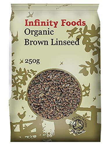 Geheel Bruin Lijnzaad 250g - Biologisch (Infinity Foods)
