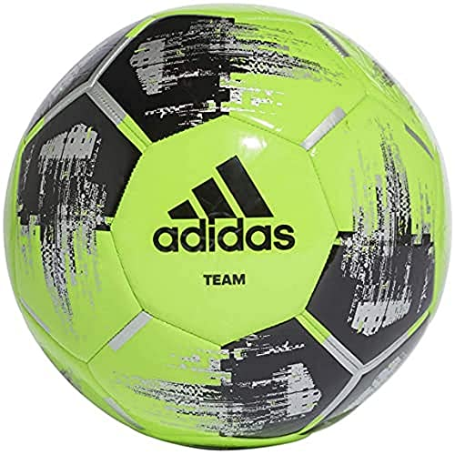 adidas Team Glider voetbal, solar green/black/silvermetallic, 4