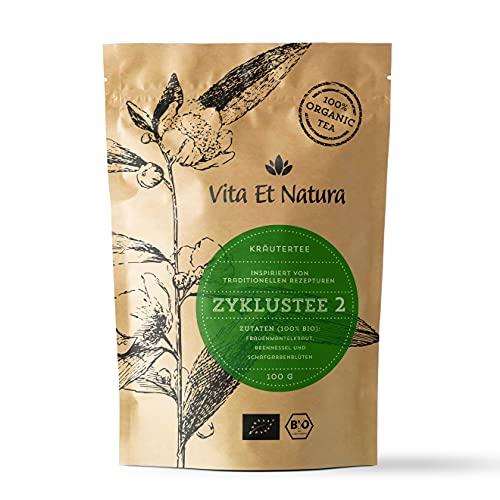 Vita Et Natura Cyclusthee 2 - 100 g losse kruidenmix volgens traditionele receptuur - 100% biologisch / DE-ÖKO-001